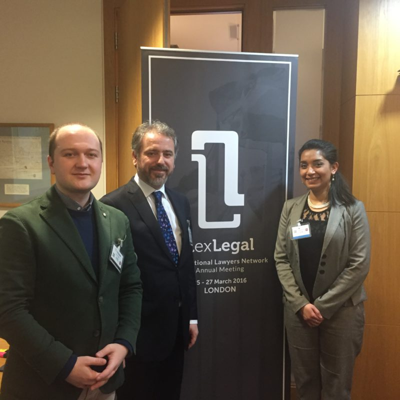 With the Director & Chief CoOrdinator of Lex Legal